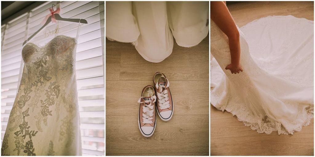 Verrassend Sofie en Sam trouwen in een schuur in Essen - WonderWeddings TD-41