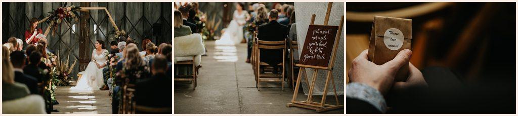 huwelijksceremonie door WonderWeddings