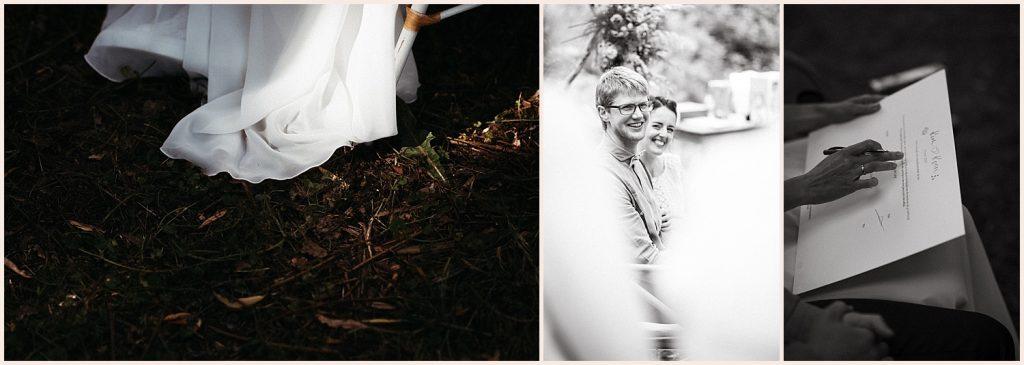 Intieme huwelijksceremonie